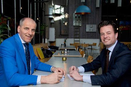 Jacques de Koning en Sebas Okkerman | De Koning Bedrijfsmakelaars